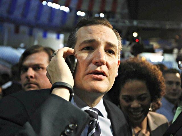Cruz on Phone Reuters Chris Keane