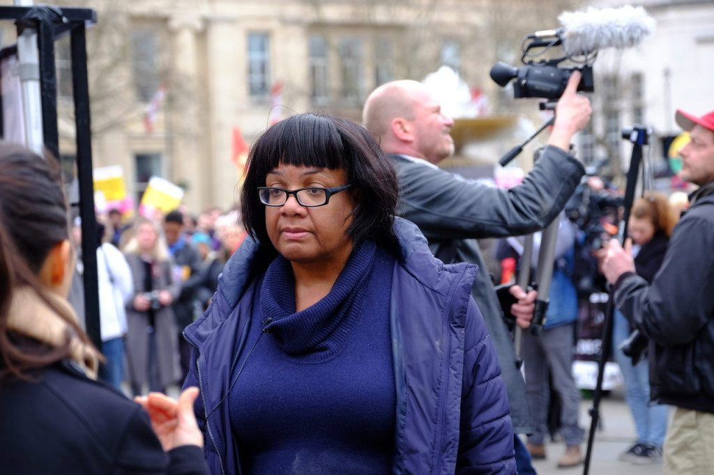 Labour MP and Shadow International Development Secretary Diane Abbott (Rachel Megawhat/Breitbart London)