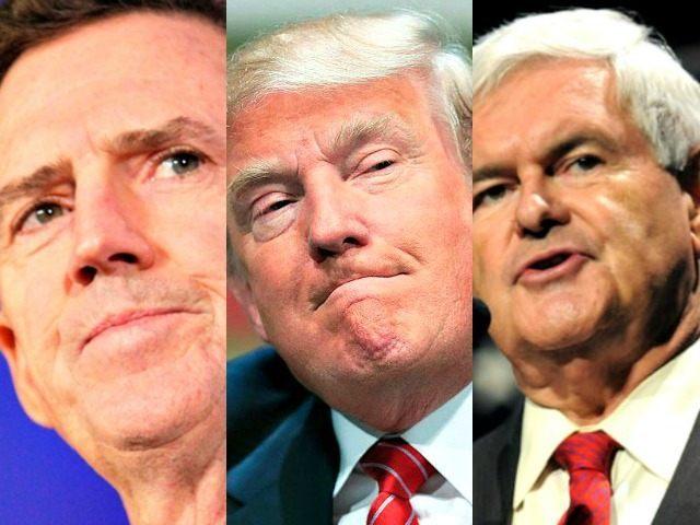 DeMint, Trump, Gingrich