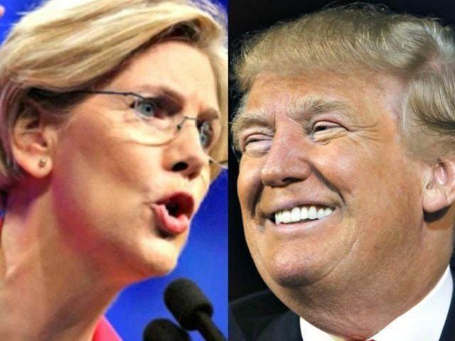 Elizabeth Warren Fundraises Off 'Bully' Donald Trump's 'Racist