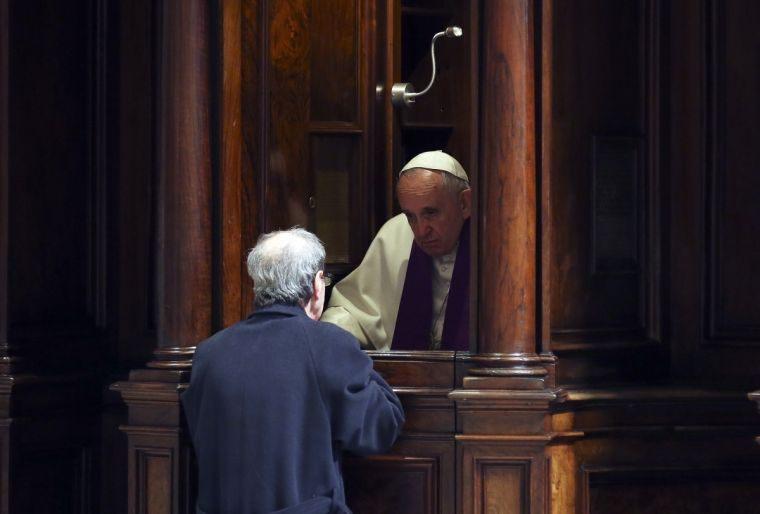 Francis confession 2 reuters