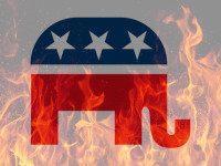 GOP Flames
