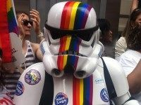Gay stormtrooper (Boss Tweed / Flickr / CC / Cropped)