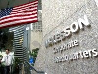 SAN FRANCISCO - JUNE 4: The McKesson corporate headquarters is seen June 4, 2003 in San Francisco, California. Charles McCall, the former Chairman of the Board of Directors of McKesson HBOC, and Jay Lapine, the former Corporate General Counsel of HBOC, were indicted yesterday by a federal grand jury in …