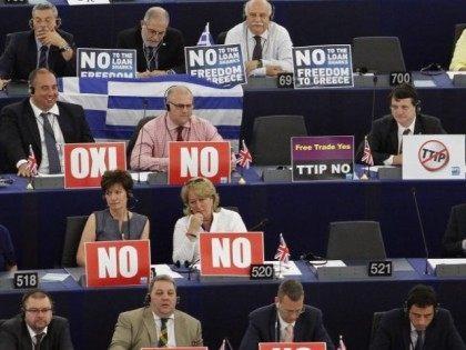 Tsipras Speaks At EU Parliament