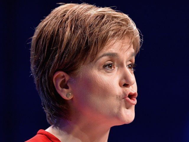 Sturgeon on October 17, 2015 in Aberdeen, Scotland.