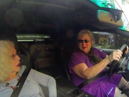 Grannies in Lamborghini (ScreenShot / YouTube)