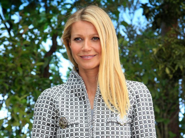 FILE - In this Jan. 26, 2016, file photo, actress Gwyneth Paltrow poses for photographers before Chanel's Spring-Summer 2016 Haute Couture fashion collection in Paris. Opening statements have begun in the trial of a man charged with stalking Paltrow. A prosecutor says Dante Soiu has hunted Paltrow for 17 years and sent her 66 letters between 2009 and 2015. Deputy District Attorney Wendy Segall said Monday, Feb. 8, 2016, that Soiu has shattered Paltrow's sense of security. Soiu was found not guilty by reason of insanity in 2000 in a previous trial and was sent to a mental institution for several years. He was re-arrested last year after sending Paltrow new correspondence. (AP Photo/Thibault Camus, File)