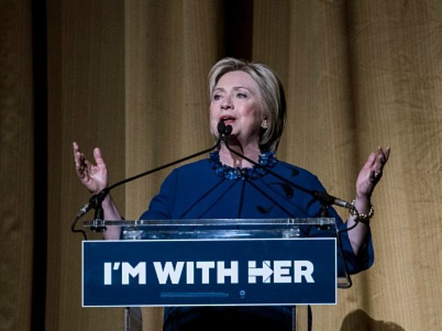 Democratic presidential Candidate Hillary Clinton speaks during a fundraiser at Radio City Music Hall on March 2, 2016 in New York City.