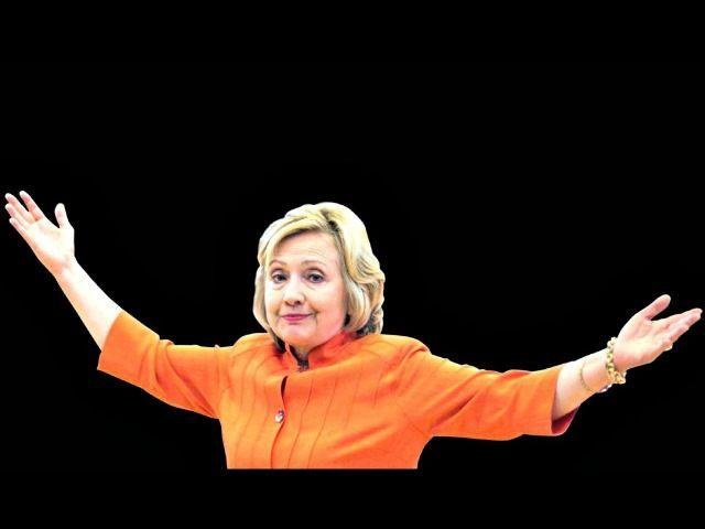 Hillary shrug AP