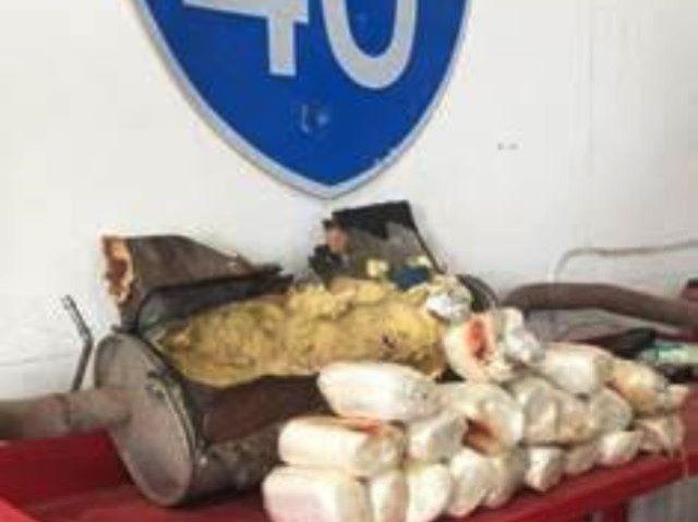 I-40 Drugs Seized