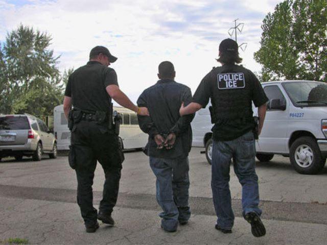 ICE Officer Makes Arrest