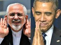 Iranian Zarif and Obama Prayerful AP Photos