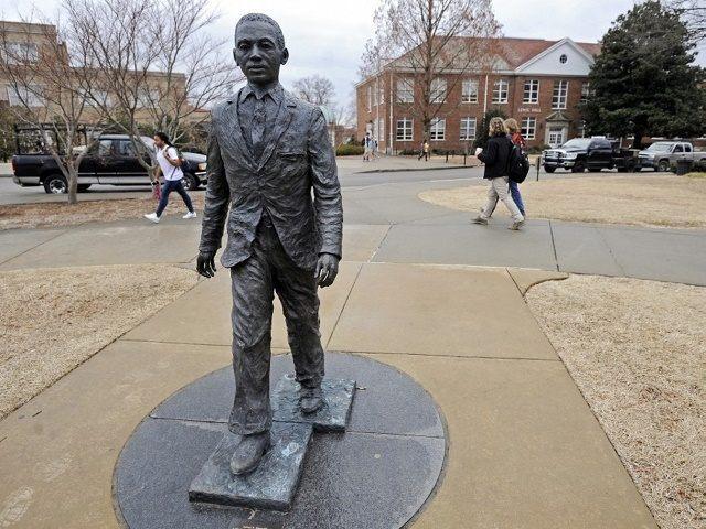 James Merideth Statue