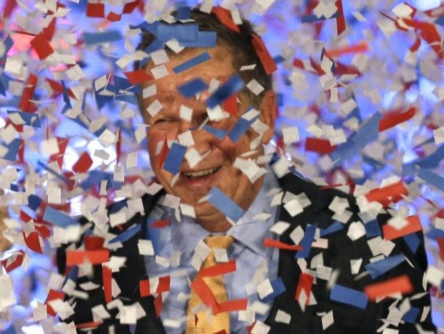John Kasich confetti (Tony Dejak / Associated Press)