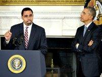 John King and Obama Getty