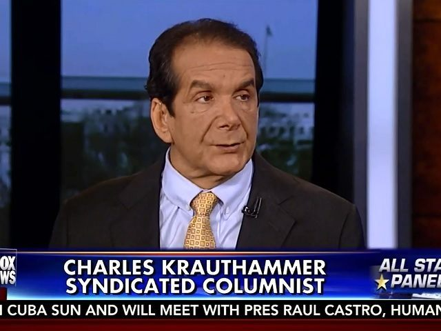 Krauthammer: Witness Intimidation Charges Against Trump 'Pure Rubbish' – Dems Are Getting 'Desperate'