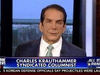 Krauthammer: GOP 'Being Led By a Non-Conservative,' As of Now, 'I Don't Think I'd Be Capable of Voting for Donald Trump'