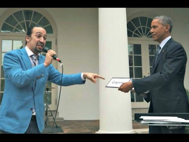 Lin-Manuel Miranda and Obama Rap NBC News