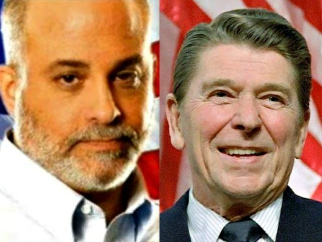 Mark Levin and Ronald Reagan AP Photos