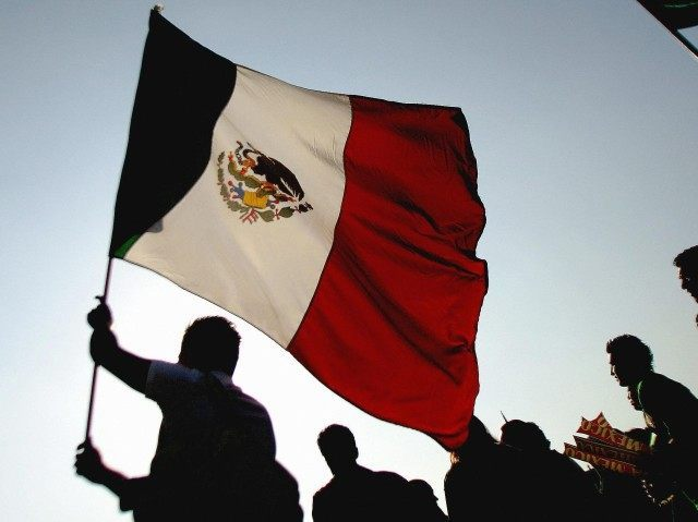 Mexican flag (Alfredo Estrella / AFP / Getty)