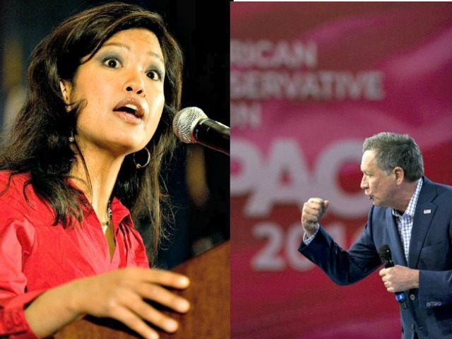 Michelle Malkin AP Steven Lane and John Kasich CPAC Steven Loeb Getty