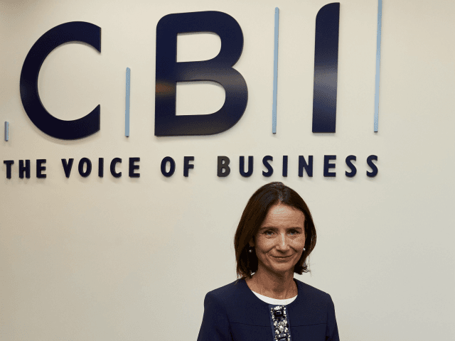 New Director-General of The Confederation of British Industry (CBI), Carolyn Fairbairn poses for a photograph during a photo-call in central London on November 16, 2015.