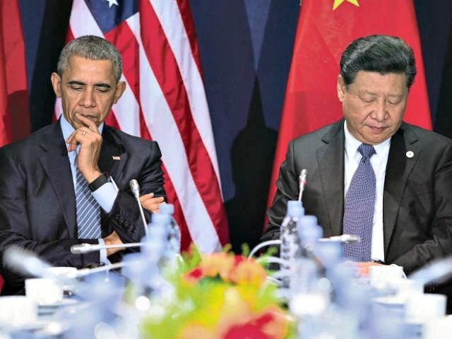 Obama and Chinese Pres Xi apEvan Vucci