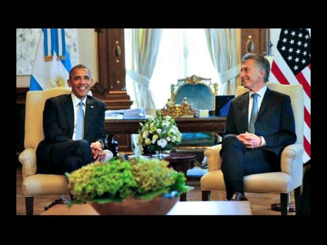 Obama in Argentina AP