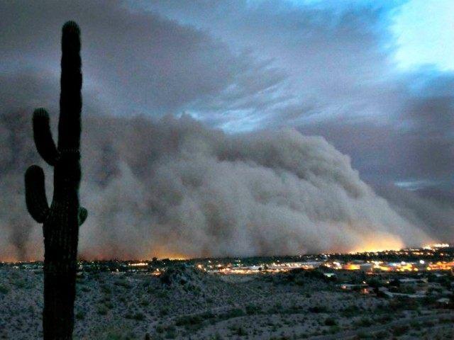Phoenix-dust-storm