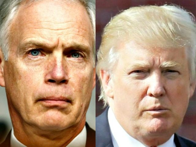Ron Johnson (Reuters) Donald Trump (AP)