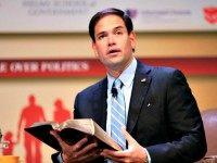 Rubio With Bible Nati HarnikAP