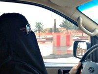 Saudi Woman Driver AP
