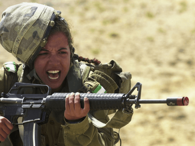 IDF women in combat