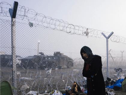 Macedonia fence Greece