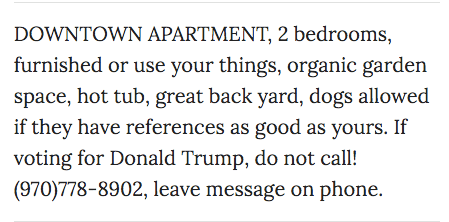 Apartment Ad