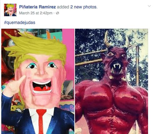 Trump Pinateria Ramirez