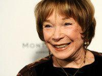 "In this Tuesday, Oct. 28, 2014 photo, Shirley MacLaine, a cast member in ""Elsa & Fred,"" poses at the premiere of the film at Sundance Cinemas in West Hollywood, Calif. At 80, MacLaine returns to headliner status in the new big-screen romantic comedy, which opens in the U.S. Nov. 7, 2014. (Photo by Chris Pizzello/Invision/AP)"