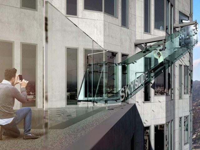 Skyslide (OUE Ltd. via AP)