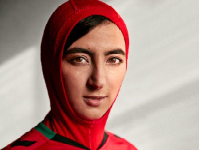 Soccer Hijab Afghanistan