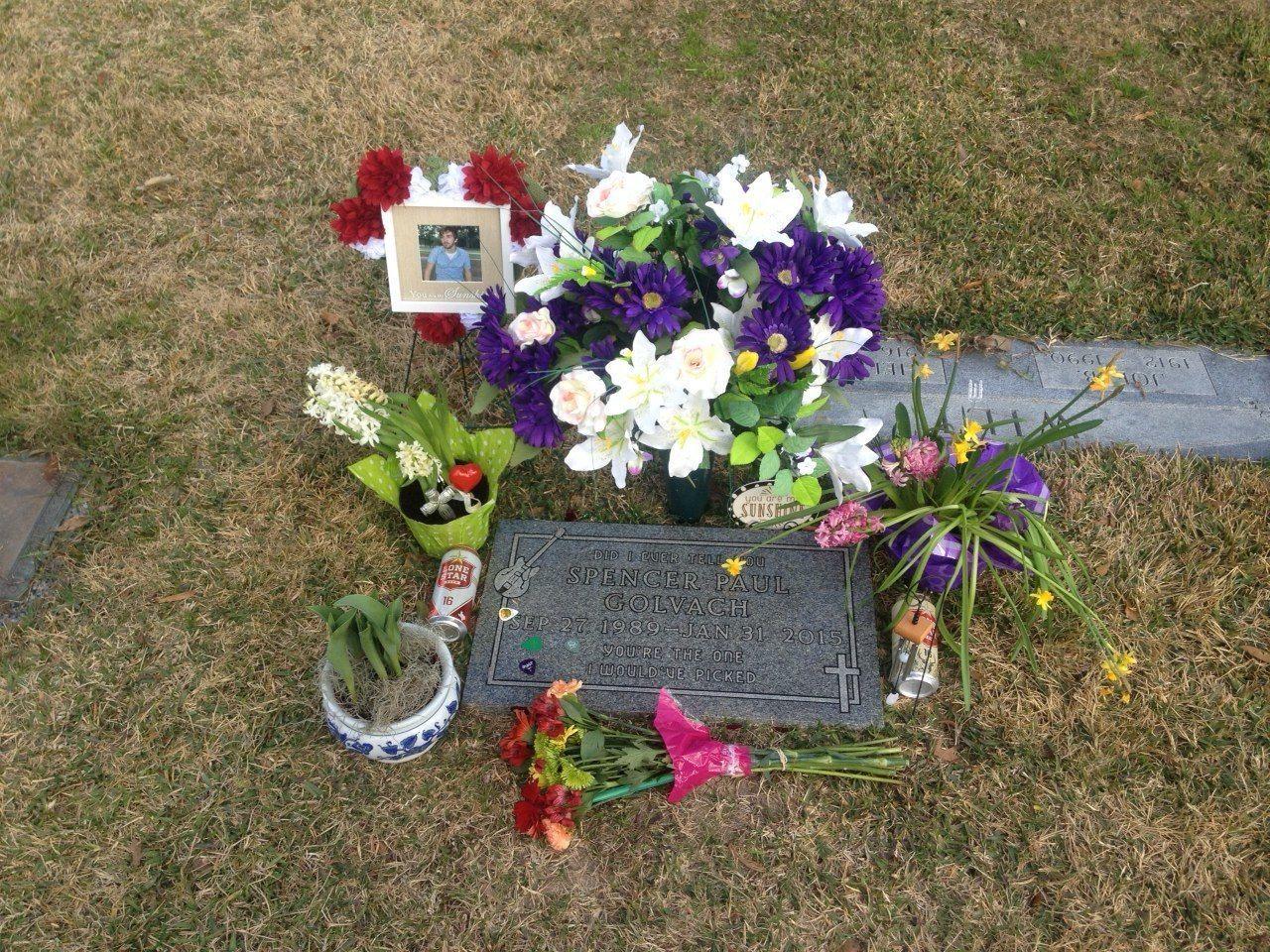 Spencer's gravesite