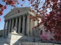 The exterior of the U.S. Supreme Court on March 26, 2012 in Washington, DC