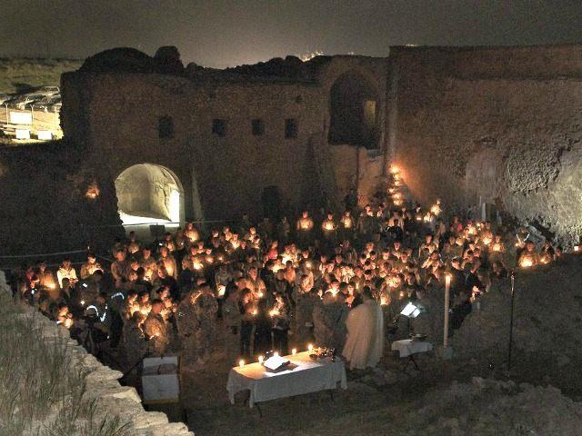 St. Elijah Monastery in Iraq before ISIS razed Staff Sgt. Russell Lee KlikaAP