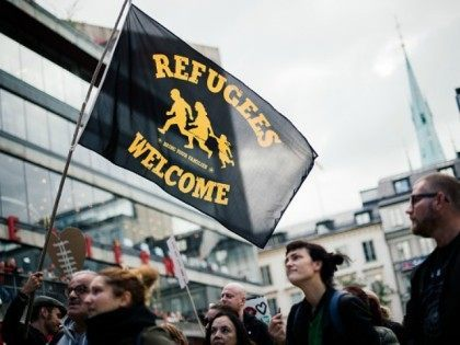Sweden pro-refugees Getty