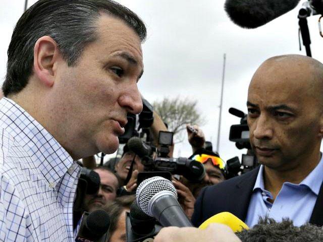 Ted Cruz Speaks Pat SullivanAP