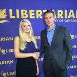 Lauren Southern with Canadian Libertarian leader Tim Moen.