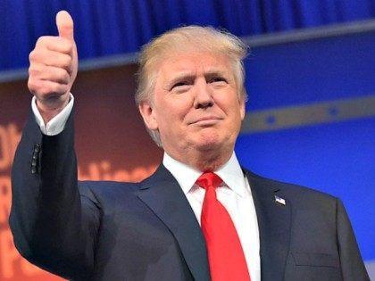 Trump Thumb AFP