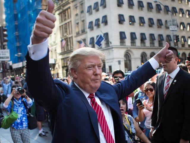 Trump in New York AP Kevin Hagen
