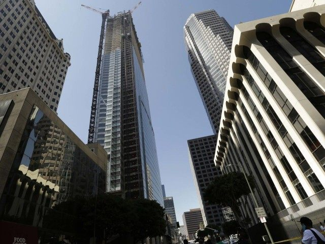 Wilshire Grand Tower (Nick Ut / Associated Press)