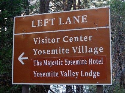 Yosemite sign (National Park Service via AP)